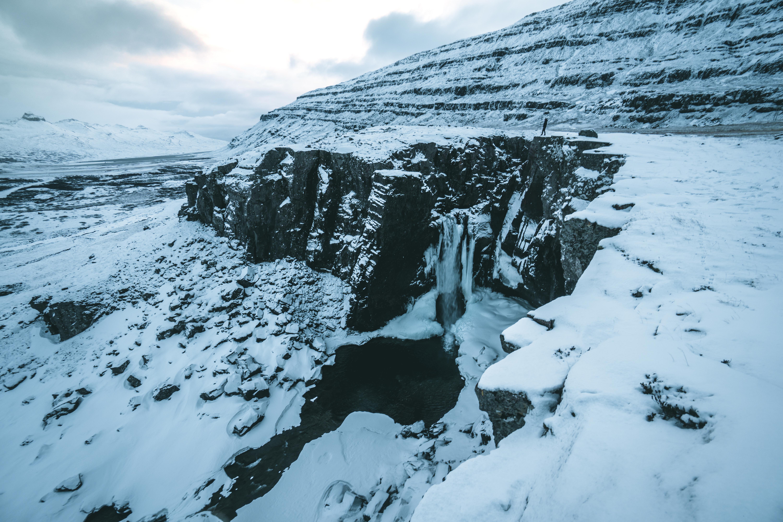 Die isländische Landschaft mit allen Facetten an einem Weihnachtstrip