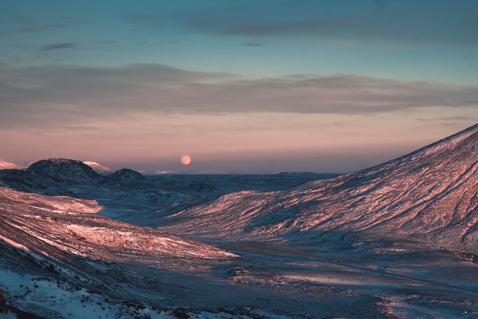 Vlog Island Landschaften Reykjavik Reisen Winter