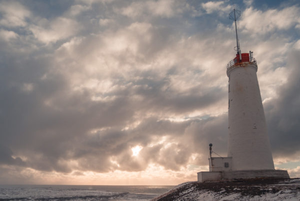 Reykjavik Reykjanes Leuchtturm Trip Reisen